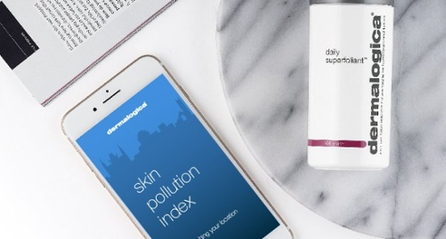 Air pollution API for Cosmetics, Dermalogica Use Case