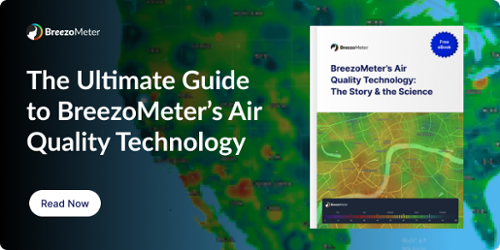 BreezoMeter's Air Quality Technology