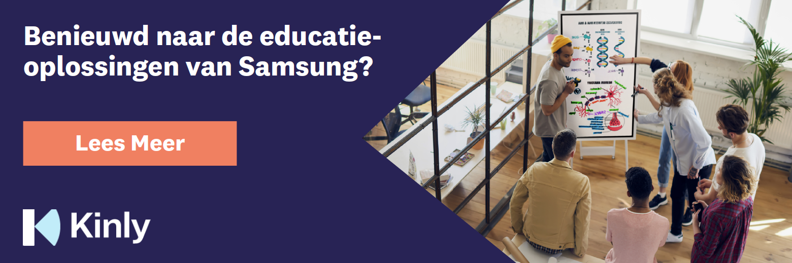 Kinly Samsung Educatie
