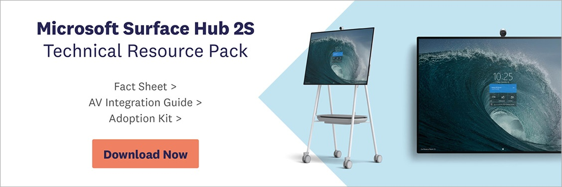 Download Surface Hub 2S Technical Resource Pack