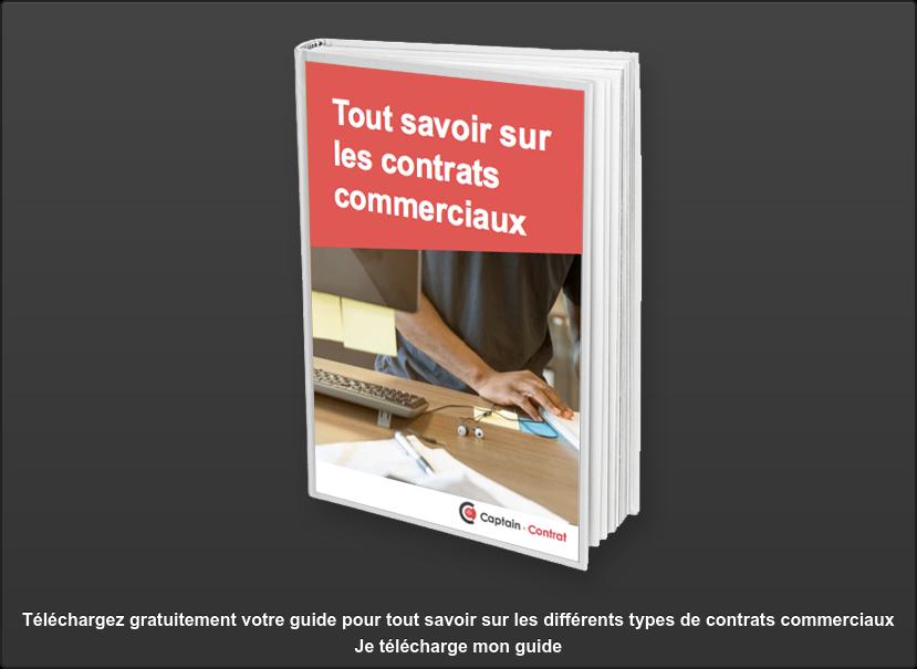 Téléchargez gratuitement votre guide pour tout savoir sur les différents types  de contrats commerciauxJe télécharge mon guide