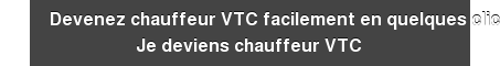 Devenez chauffeur VTC facilement en quelques clics Je deviens chauffeur VTC