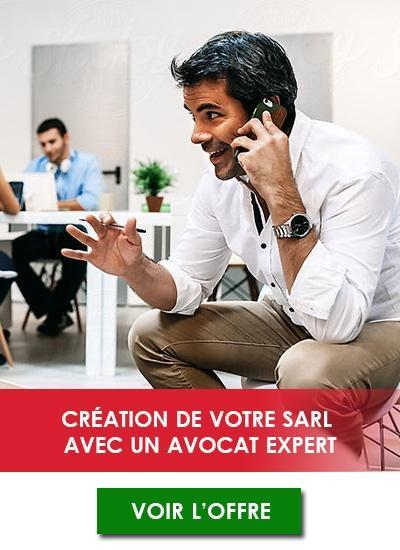 Création d'une société SARL en ligne