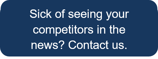 Yes, I'm sick of seeing my competitors in the news