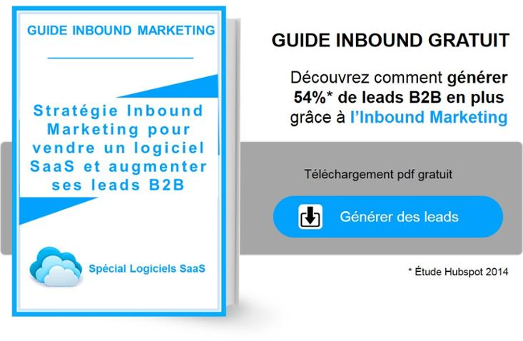 guide inbound marketing secteur solutions IT et logiciels saas