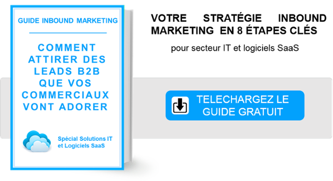 guide inbound marketing secteur solutions IT et logiciels saas