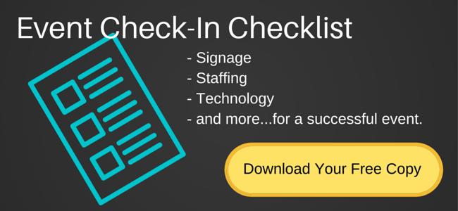 guest check-in checklist