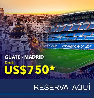 Vuelos a Madrid - TAG Airlines