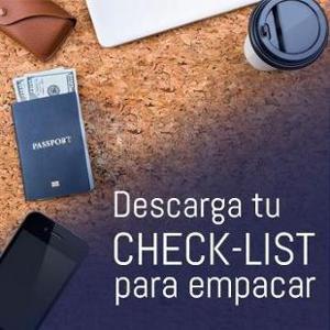 Checklist para empacar