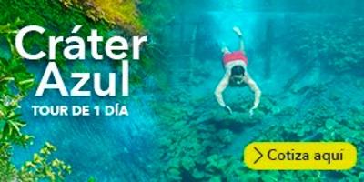 ONE DAY TOUR CRÁTER AZUL ¡COMPRA AQUÍ!