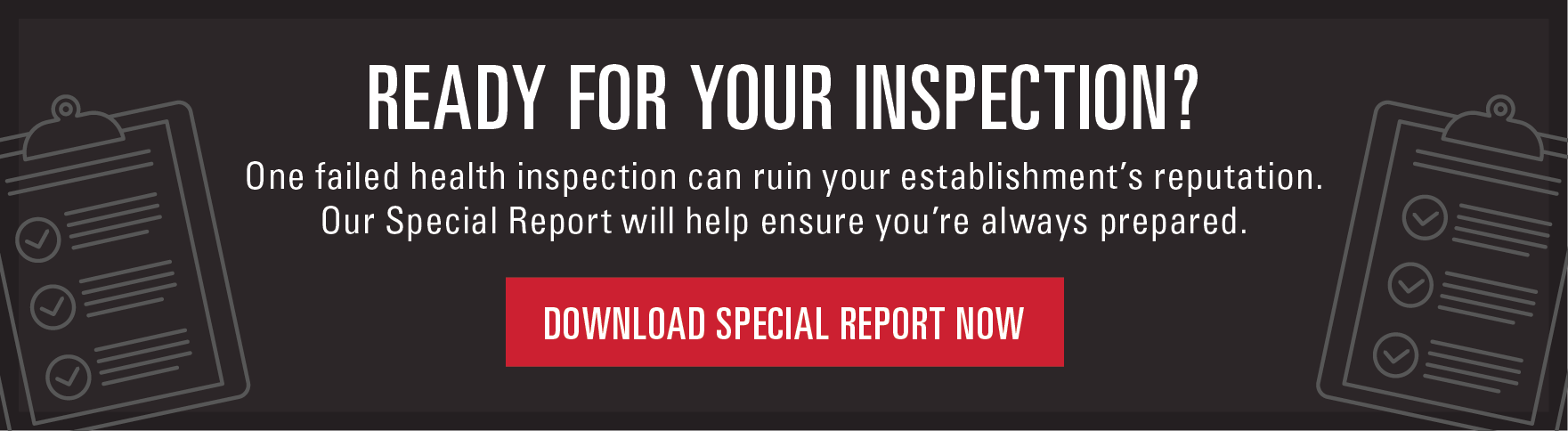 Health Inspection Special Report