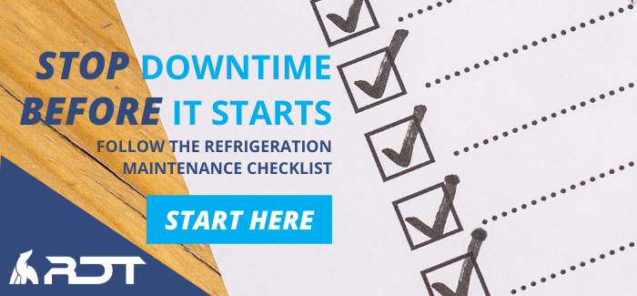 refrigeration maintenance checklist