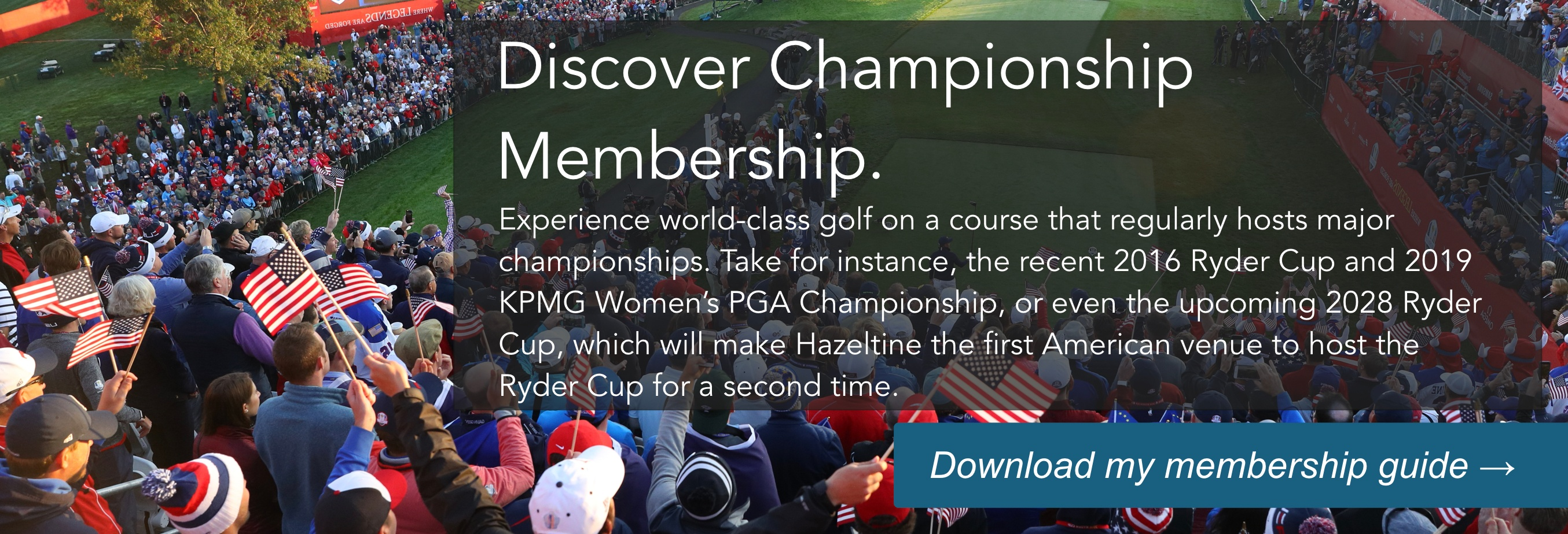 Discover Championship Membership