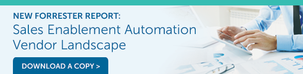 Download the Forrester Sales Enablement Automation Report