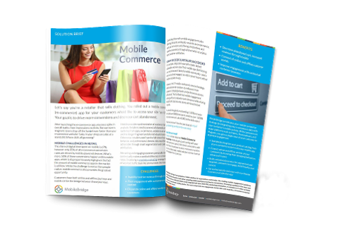 Mobile Commerce Solution brief