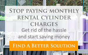 Stop paying monthly rental cylinder charges