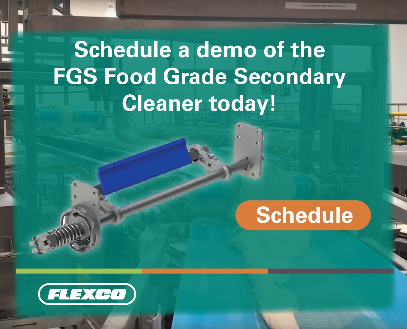 Schedule a Demo with the FGS Food Grade Secondary Cleaner