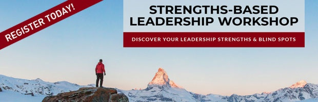 Sign up for our public Strengths-based Leadership Workshop - 100% subsidized by SkillsFuture.
