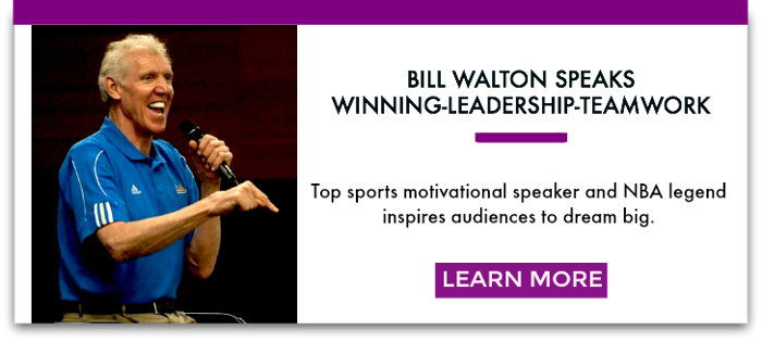 Sports Motivational Speaker Bill Walton: Learning to Tie Shoes was Coach Wooden's Lesson for Lifelong Success