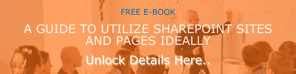E-BOOK CTA - Utilize SharePoint sites and pages