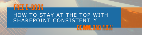 Free e-book - How to Stay at The Top with SharePoint Consistently