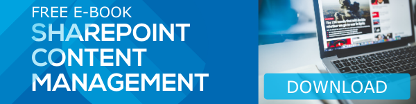 SharePoint Content Management E-book