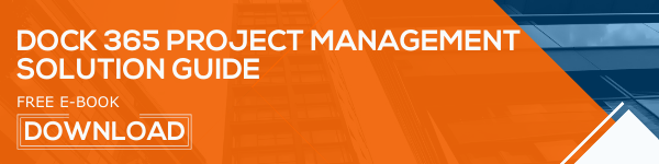 Dock 365 Free E-book Project management solution guide