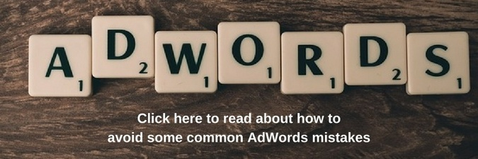 Read about how to avoid some common Adwords mistakes