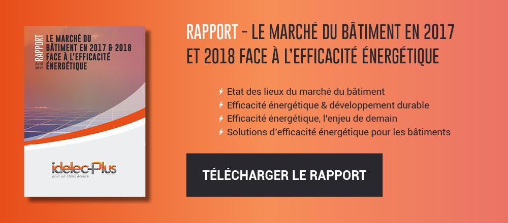 Marché du bâtiment face à l'efficacité énergétique