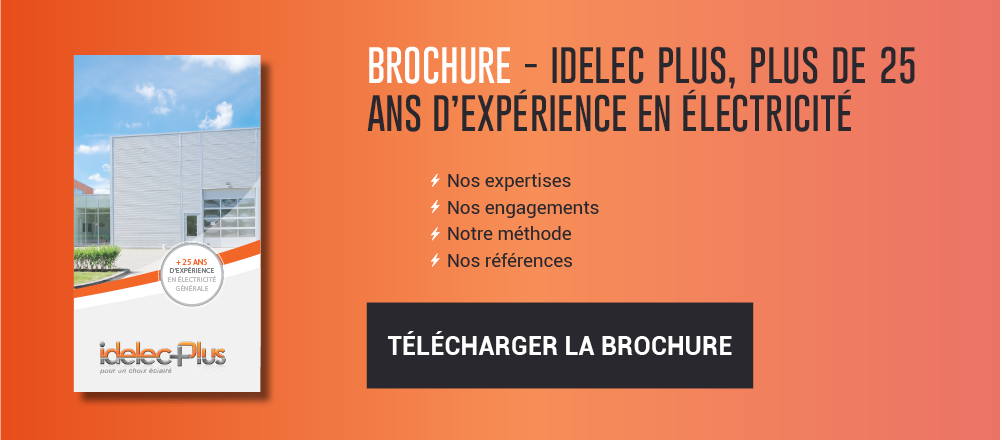 Brochure Idelec Plus entreprise électricité générale