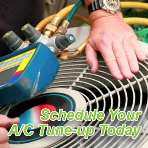 Schedule an air conditioner tune-up