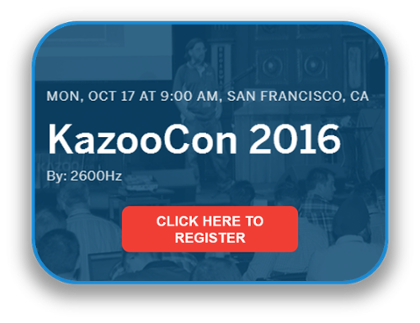 Register for KazooCon 2016
