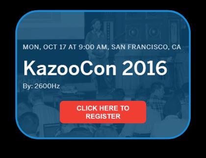 Register for KazooCon 2016