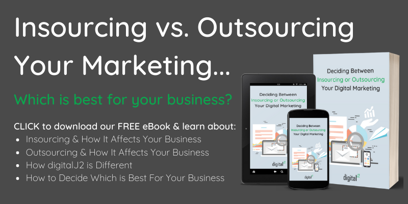 Free eBook on Insourcing vs Outsourcing marketing
