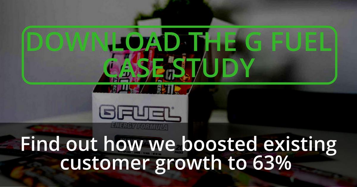 ecommerce ebook G Fuel