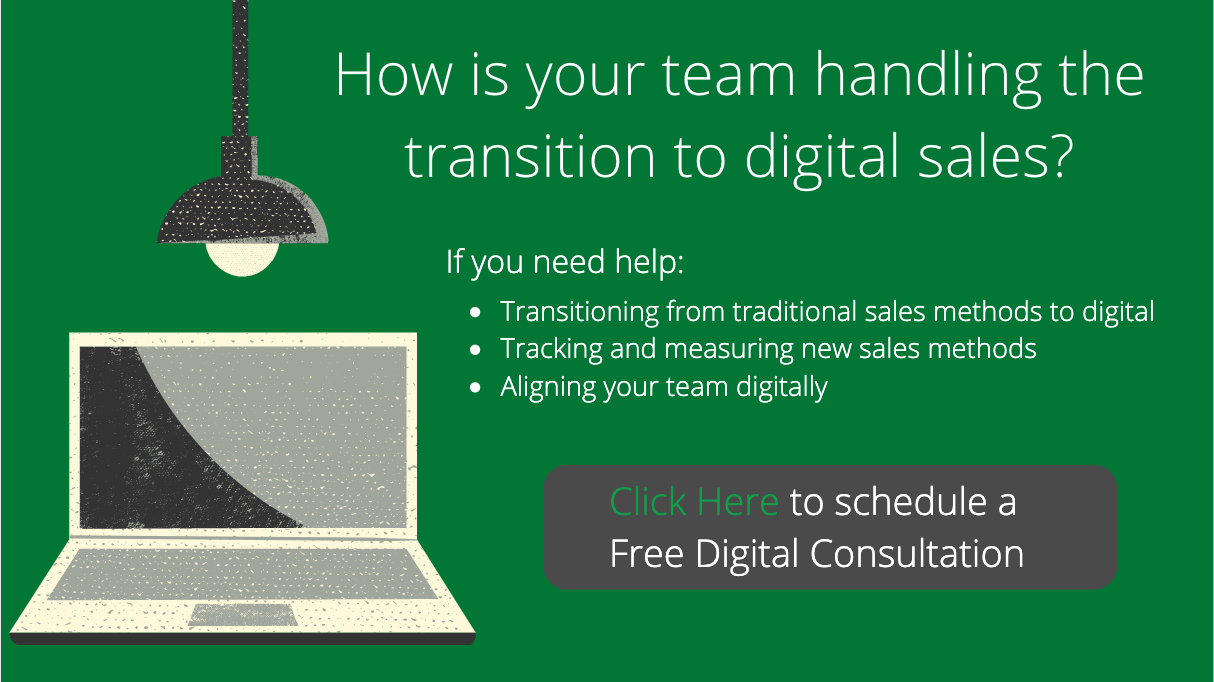 Digital Consultation Shift Sales Team To Digital