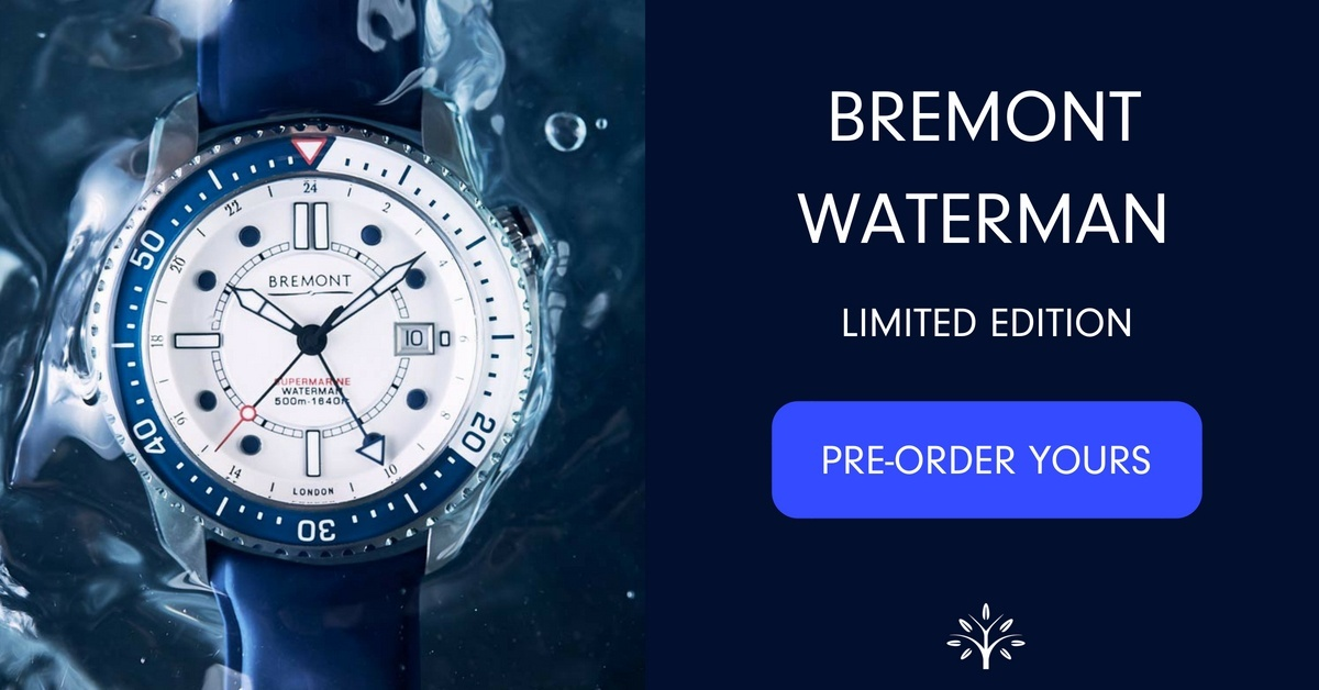 Bremont Waterman - Pre-order Now
