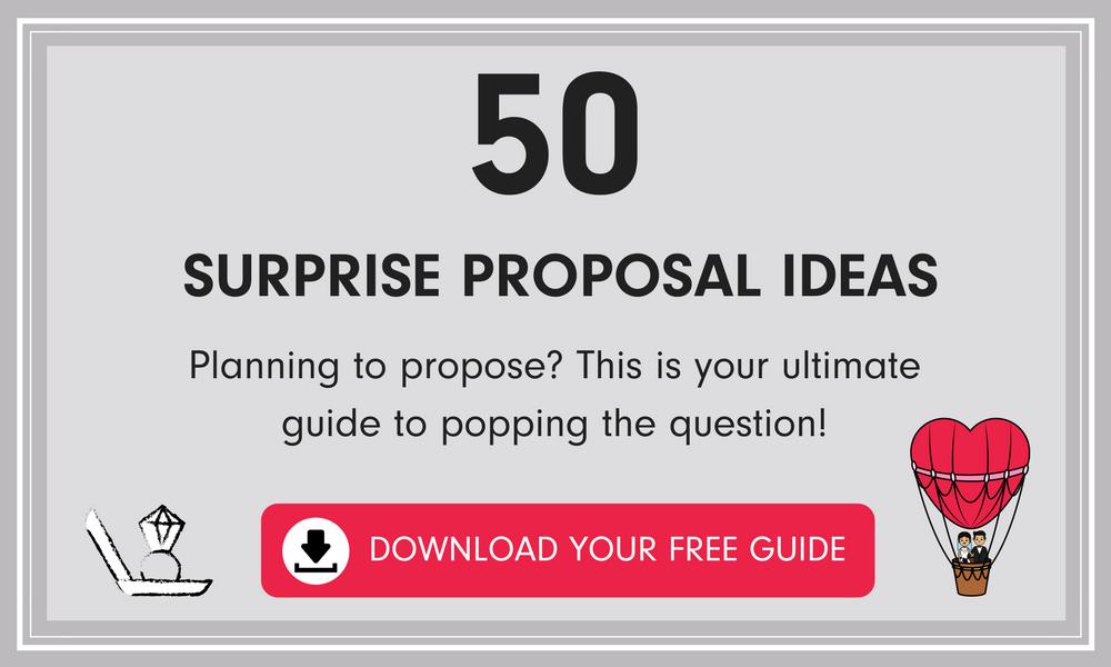 50 Surprise Proposal Ideas