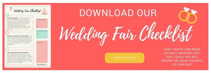 Wedding Fair Checklist