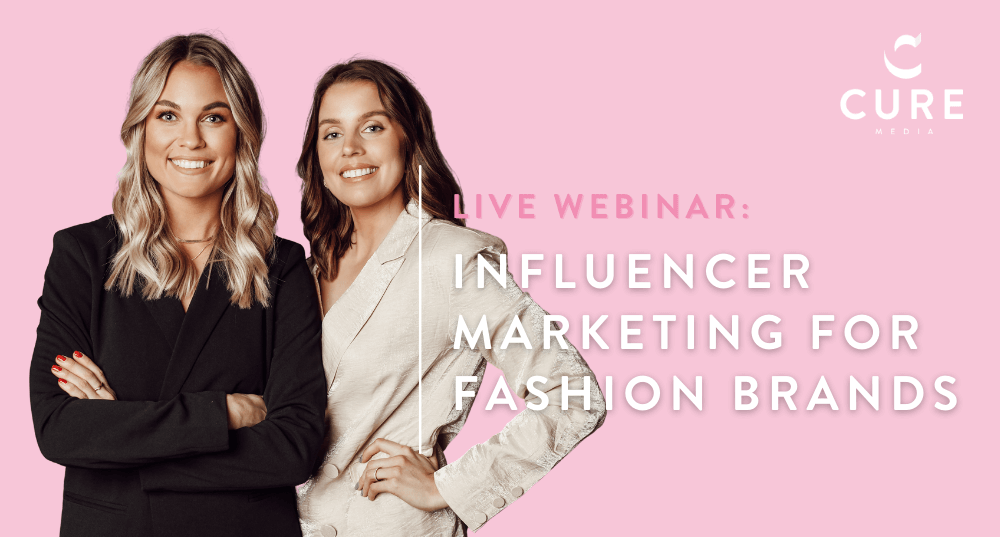 Webinar Influencer marketing for fashion brands