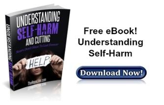 Free eBook! Understanding Self-Harm and Cutting from TheHopeLine®