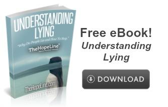 Free eBook! Understanding Lying from TheHopeLine®