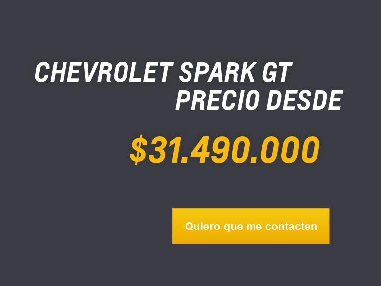 CHEVROLET SPARK GT PRECIO DESDE $31.490.000