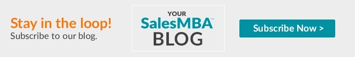 Stay in the loop! Subscribe to the Your SalesMBA blog!