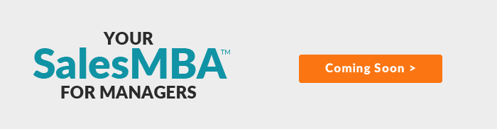 Your SalesMBA - Coming Soon!