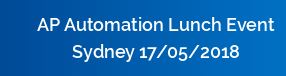 AP Automation Lunch Event Sydney 17/05/2018
