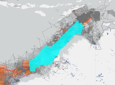 NorthWest Shelf 2D Cubed TGS Data Australia