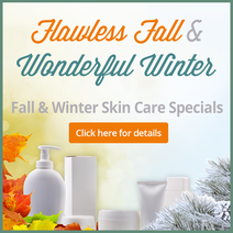 Bay Area Fall Winter Skin Care Specials