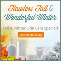 Bay Area Fall Winter Skin Care Specials