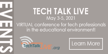 Tech Talk Live - May 3-5, 2021 - Learn more!